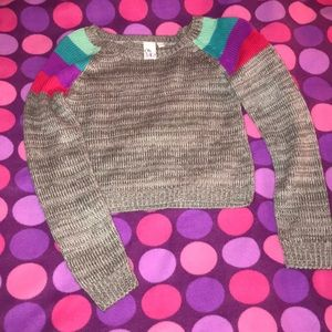 Tops - Sweater crop top